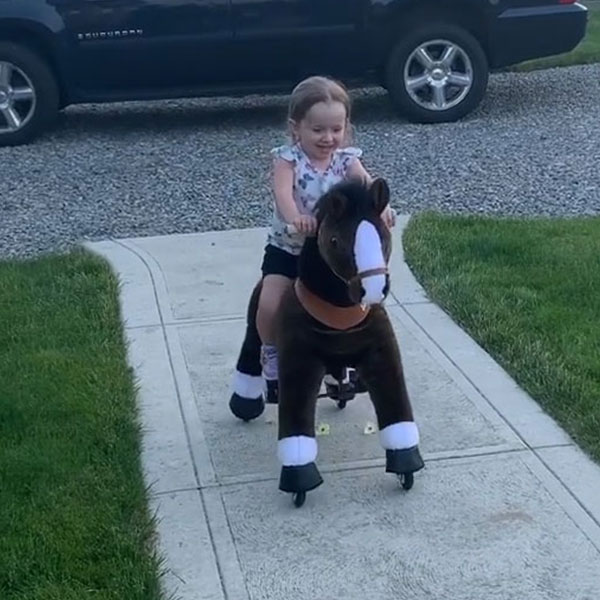 Girl with her pony!