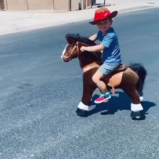 Cowboy Gallop and Go