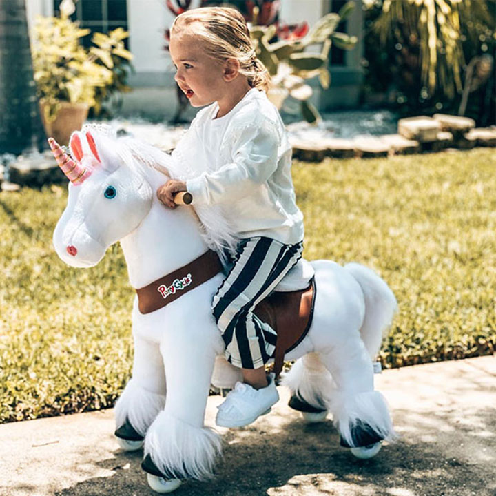 Happy time with the pony
